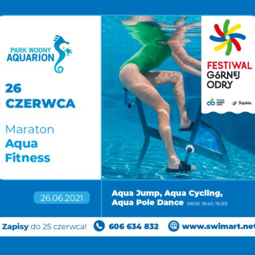 Bezpłatny Maraton Aqua Fitness w ramach Festiwalu Górnej Odry